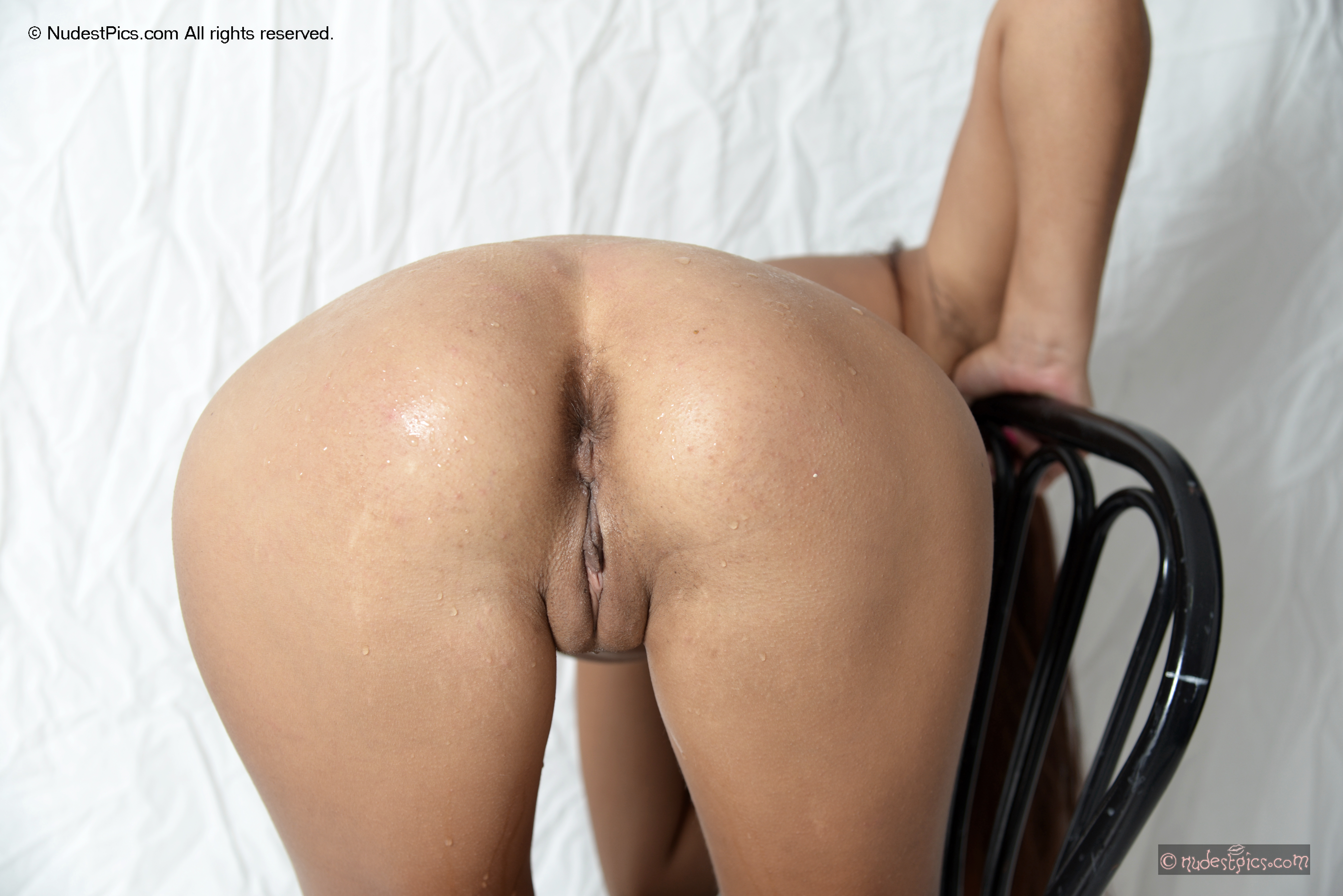 Bent Over Chair Naked