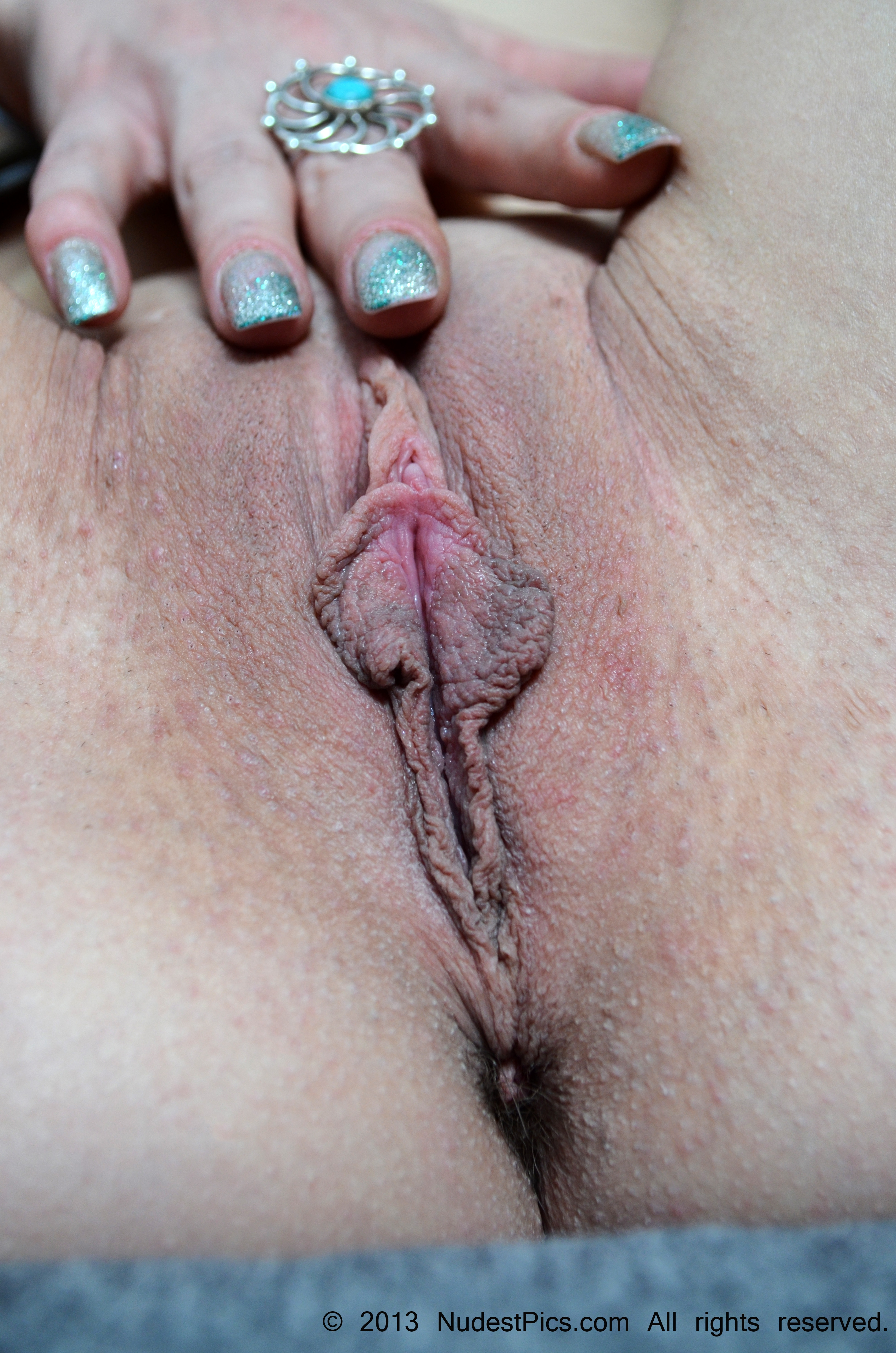 Pussy with Elongated Labia