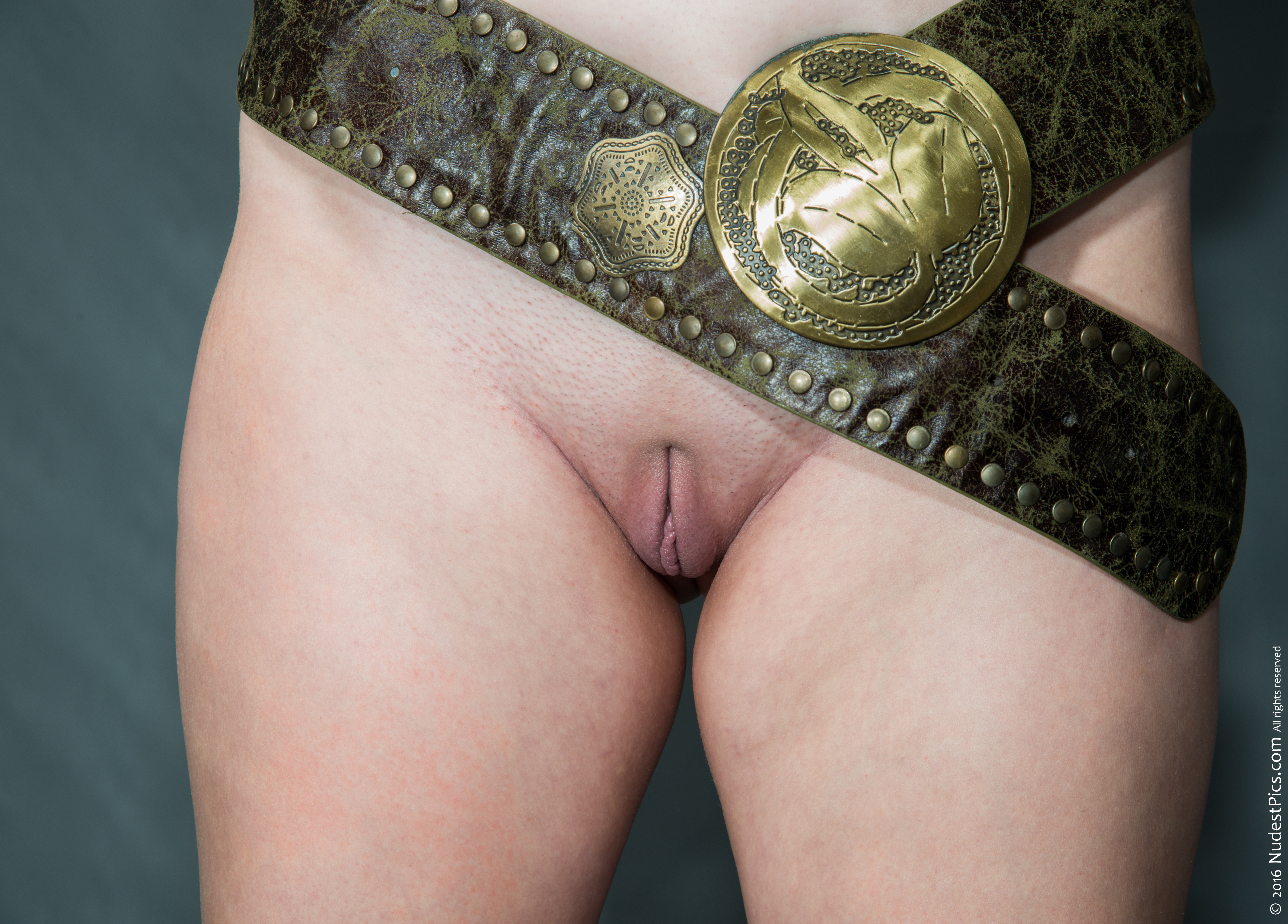 Pussy with Chastity Belt Removed