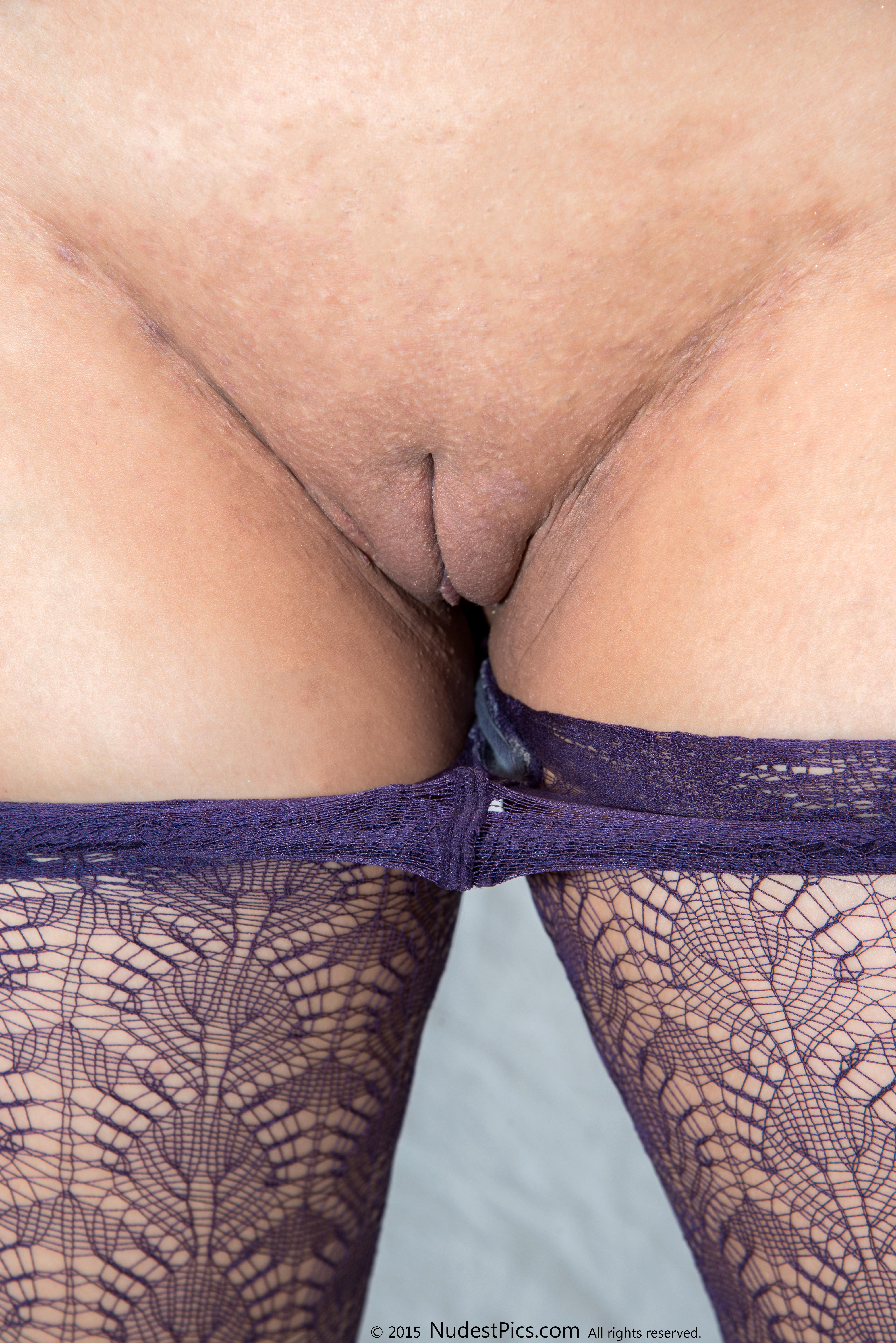 Undressing Tough Skin Shaved Vulva